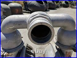 MFG Wilden Air Powered Double Diaphragm Pump, S/N 50446, MOD M15/00