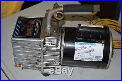 Marathon Electric Part No 10215-133 Ph-1 / J/b Dv-200n 7cfm Vacuum Pump