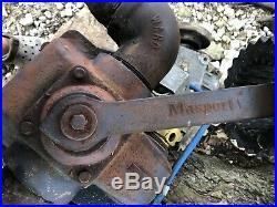 Masport Model 400 W. Vacuum/pressure Pump. Used. Complete Set Up. PTO. Gear Box