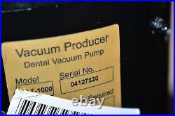 Matrx Max-1000 Dental Vacuum Pump System Operatory Suction Unit 220V/115V