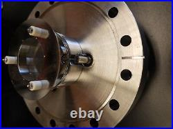 Microchannel plate mount, 25mm MCP, Conflat 6 flange