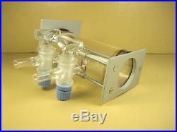 Miniature Glass Vacuum Chamber 4-1/2 L x 2 Dia