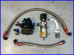 Moroso 22640 Vacuum Pump withHoses, Fittings, SBC Mounting Bracket, Breather Tank