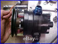 Moroso 22641 Vacuum Pump Kit W Lines Puke Tank Pulleys Fittings Bbc Sbc Nice