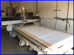 MultiCam 5x10 CNC Router MG Series with vacuum pump & automatic tool changer