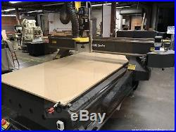 MultiCam 5x12 CNC Router 5000 Series with vacuum pump & automatic tool changer