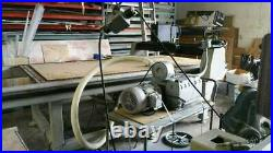 Multi Cam CNC with vacuum pump