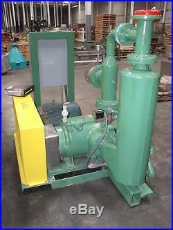 NASH VACUUM PUMP PACKAGE Model SC-7 with 40 HP Motor