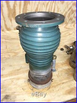 NRC 0183/Varian VHS-4 diffusion vacuum pump, clean, heater works