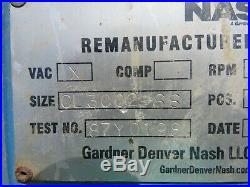 Nash Staniless Vacuum Pump Cl3002 Ss Used