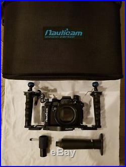 Nauticam Housing For Sony RX100 V with vacuum pump and case