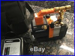 Navac 18 volt cordless Air Vacuum Pump with Battery & soft case HVAC/R