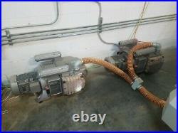 NexTech 5'x 10' CNC Router, 2 Becker vacuum pumps, air dryer, compressor