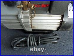Nice used CPS VP6D PRO-SET A/C Vacuum Pump 2880 RPM 115v/220v 2 stage