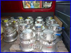 OERLIKON LEYBOLD TURBOVAC MAG W 3200 turbomolecular pump invoice