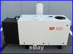 Oerlikon Leybold Screwline SP630F Dry Compressing Vacuum Pump + Muffler SP630 F