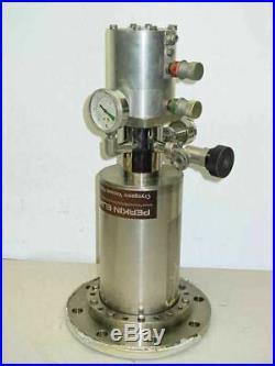 Perkin-Elmer Cryopump / Cryogenic Vacuum Pump withVarian Valve 95 (6)