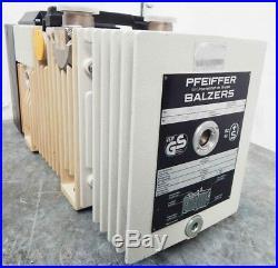 Pfeiffer Balzers DUO 004 B Drehschieber Vakuumpumpe -used