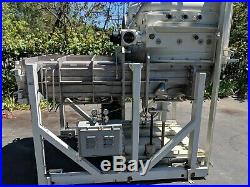 Pfeiffer Balzers High Vacuum Chamber SCS 800 Jacketed Stainless steel