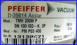 Pfeiffer Balzers TMH-200 MP Turbo-Drag High Vacuum Pump