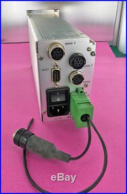 Pfeiffer Balzers TPG-252A High Vacuum Dual Gauge Controller Readout PTG28270
