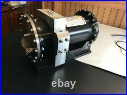 Pfeiffer Cylindrical 8 Diameter Vacuum Chamber with Custom stainless steel