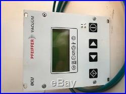 Pfeiffer DCU 001Turbo Pump Controller
