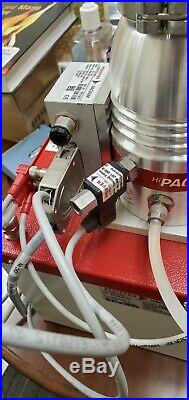 Pfeiffer HiCube 80 Eco turbo pump pumping station turbomolecular pump