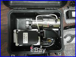 Pfeiffer Splitflow 80 TPH-071P Dry Turbo Pump Station (KNF N84.4 diaphragm pump)