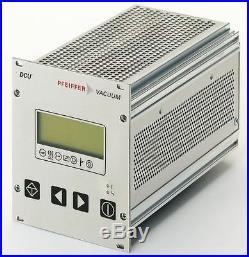 Pfeiffer Vacuum DCU 400 Pump Controller D-35614 Asslar /Never Used/