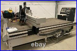 Precision Automation PA1000 CNC Router 5 x 10 With Vacuum Pump 2 Perske Spindles