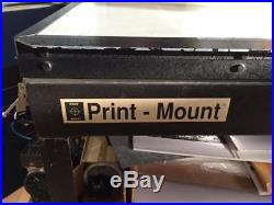 Print Mount Hot Shot Vacuum Press With Pump and Stand dry mount