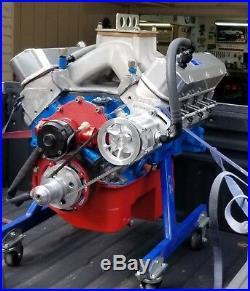 Pro Racing Small Block Ford Vacuum Pump 3 Vane Aerospace Kit Add +30hp