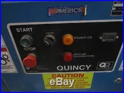 Quincy Industrial Vacuum Pump QSVB25ANN1E 25HP 38,489 hours 200V Used