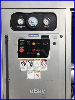 Quincy QSVI 50HP Rotary Screw Vacuum Pumps QSVI50WCN3E