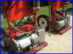 R134a Auto AC Freon Recovery Recycle Machine Mastercool 90052 Vacuum Pump OHIO