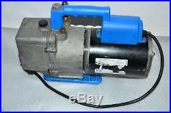 ROBINAIR SPX 15600 Cooltech High Performance Vacuum Pump 1/2 Horsepower, 6 CFM