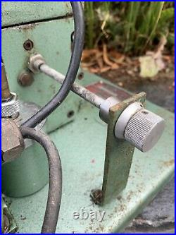 Rare antique vintage GENEVAC vacuum pump ELECTRICAL powered electric motor