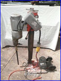 Ridgid RB214 Core Drilling Unit Drill with Stand & Vacuum Pump, 115V Electric