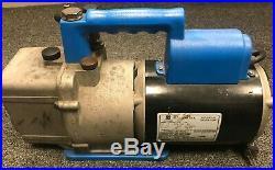 RobinAir 15600 6 CFM 1/2HP 1 Phase 2 Stage Vacuum Pump