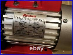 Robinair (15500) VacuMaster Economy Vacuum Pump 2-Stage, 5 CFM-