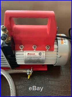 Robinair 15800 8 CFM Vacumaster 2 Stage Vacuum Pump