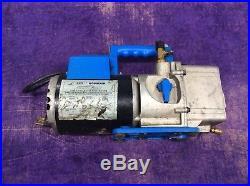Robinair CoolTech 15600 High Performance HVAC Vacuum Pump 1/2HP 6 CFM Tested