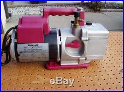 Robinair Model 15400 Vacumaster High Performance Vacuum Pump Good Condition Used