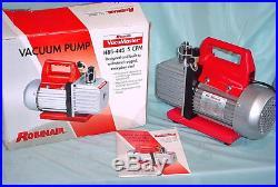 Robinair VacuMaster 2 Stage Vacuum Pump Model 15500 5 CFM Capacity 110V SPX