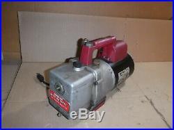 Robinair Vacumaster High Performance Vacuum Pump Model 15600