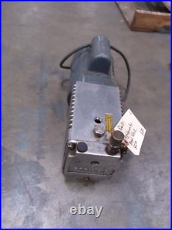 Robinaire Vaccum Pump Model 15101-B 5 CFM GE 1/3HP 1725 RPM Motor