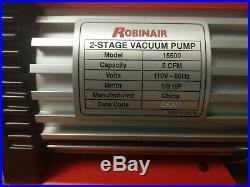 Robinaire Vacuum 15500 Pump 2 Stage 5 CFM