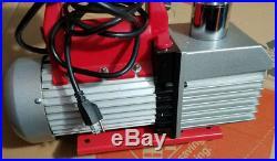 Robinaire Vacuum Pump- 15800- 2 stage- 8 CFM- 1 HP- 120V- 60Hz