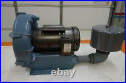 Rotron Regenerative Blower 3 HP, 3 Phase, DR656K72X 080602, with Filter